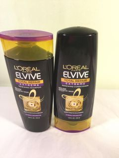 L'Oreal Elive total repair extreme shampoo and conditioners set