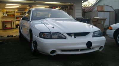 1994 Cobra has been 8.2 at 170, very streetable