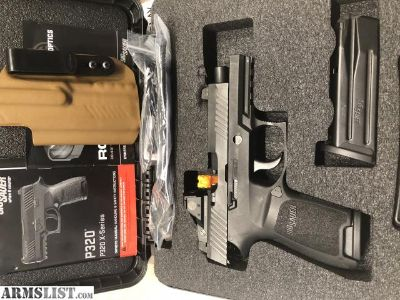 For Sale/Trade: Sig P320RX Compact