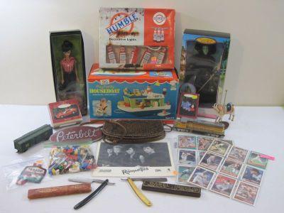 Christmas, Vintage Toys, Model Trains..