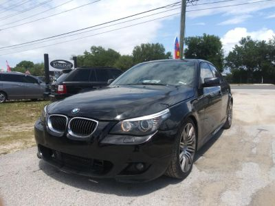 2008 BMW 5-Series 550i (Black)