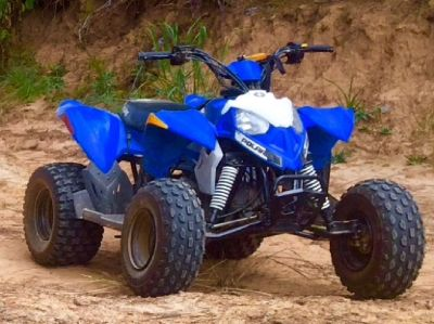 2014 Polaris Outlaw 90 Kids ATV-blue