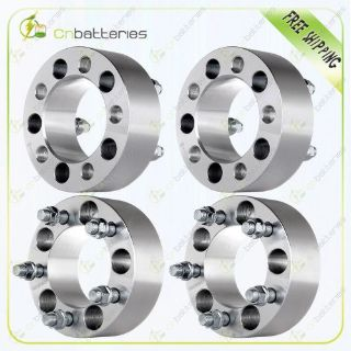 "Purchase 4Pcs 2"" 5x4.5 1/2"" Studs Wheel Spacers For Ford Galaxie Mustang Jeep Liberty motorcycle in Pomona, California, United States, for US $101.09"