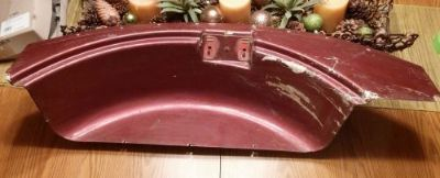 Purchase 1956-1960 CORVETTE ORIGINAL FIBERGLASS REAR INNER TRUNK PANEL 57 58 59 C1 motorcycle in Sioux Center, Iowa, United States, for US $154.99
