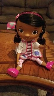 Doc McStuffins doll very cute new bought it for my granddaughter for Christmas and she never played with it asking $7