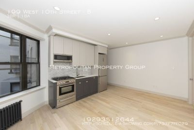 West Village No Fee  Brand New Gut Renovated Large 4 Bedroom w/ 2 Full Bathrooms and Washer & Dryer !
