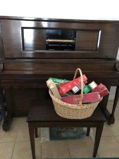1940's Player Piano