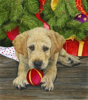 Puppy Love Christmas 300 piece SunsOut Jigsaw Puzzle Brand New in Box