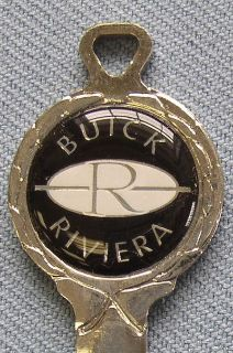 Sell Vintage Buick RIVIERA B-48-A Classic White Gold Key Set 1967 1971 1975 1979 motorcycle in Akron, Ohio, US, for US $48.95