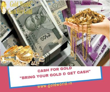 Say Goodbye To Your Old Golds With Gold World- Cash For Gold