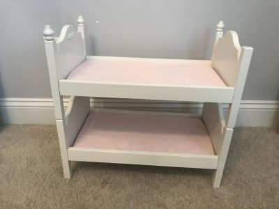 Pottery barn doll bunk bed (for American girl)