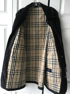 Burberry London, Quilted Jacket, 100% Authentic