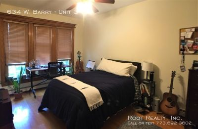 East Lakeview - Huge 3-Bedroom + Den/2-Bath - Available 8/1 - Heat Included!
