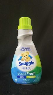 Snuggle fabric softener 46 loads