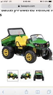Looking for a John Deere Gator kids toy.