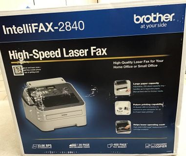 BRAND NEW BROTHER INTELLIFAX-2840