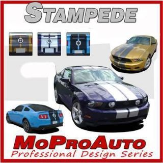 Sell Ford MUSTANG Rally Racing Stripes Decals Graphics - 3M Pro Vinyl 2010 593 motorcycle in Memphis, Indiana, US, for US $148.74