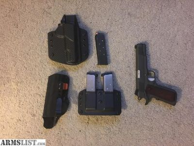 For Sale: Springfield 1911 loaded