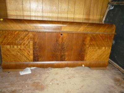 VINTAGE LANE MID CENTURY CEDAR CHEST LOCK REMOVED FOR CHILD SAFETY *FREE DELIVERY*