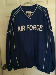 Air Force windbreaker