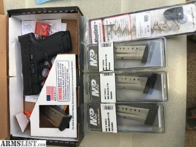 For Trade: M&P Shield 9mm + Night Sights + Extras
