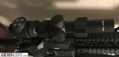For Sale/Trade: Trijicon Acupoint 1-6x and QD Mount