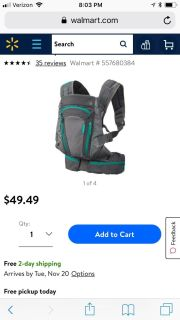 Infantino carrier