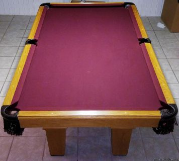 "Rec Warehouse ""Mustang"" 8' Pool Table"