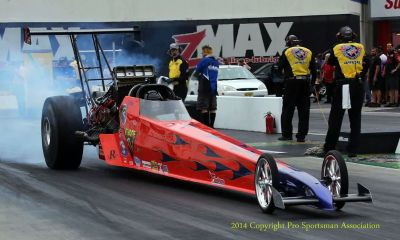 2007 Bos Top Alcohol Dragster
