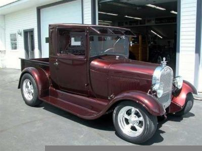 1929 Ford Pickup Closed Cab