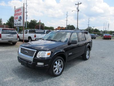 2008 Ford Explorer XLT (Black)