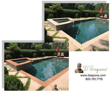 Pool Tile Restoration Service in Alpharetta - Johns Creek, Georgia | D'Sapone