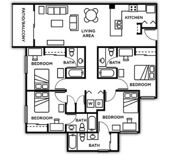 $469, 1br, apartment w female roomates, private bedroom and bath, fully furnished, half of 1st month paid, Female Only