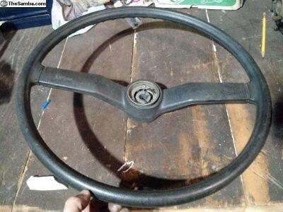 Very Clean Bay Window Steering Wheel