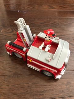 Paw patrol truck and figure