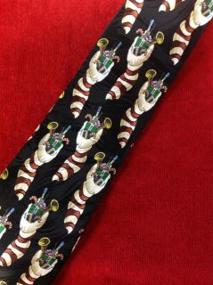 Classic/Vintage Keith Daniels Winter Neck Tie - Christmas Stocking