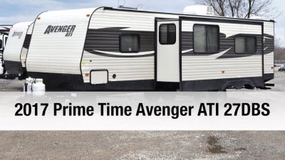 By Owner! 2017 27 ft. Prime Time Avenger ATI 27DBS