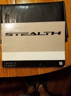 95 Dodge Stealth Owners manual