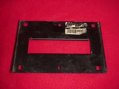 Buy NOS 63 64 65 66 67 CORVETTE FRONT LICENSE PLATE BRACKET 3878898 427 3X2 327 motorcycle in Fort Wayne, Indiana, United States, for US $29.95