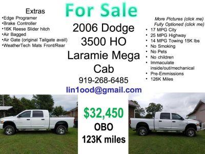2006 Dodge 3500 HO Laramie Mega Cab