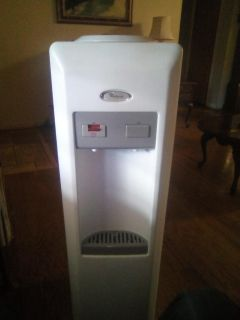 whirlpool water cooler and serves hot water.