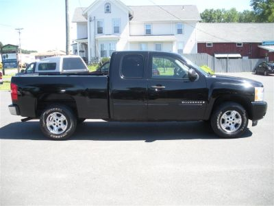2008 Chevrolet Silverado 1500 Work Truck (Black)