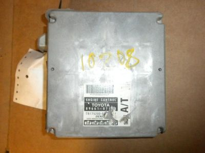 Sell 1998 Toyota Avalon Engine Brain Box, Elec Cont Unit (ECU), (behind console) motorcycle in Fresno, California, US, for US $114.95