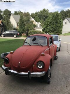 1973 Super Beetle and Sport Beetle