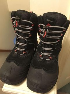 Youth Size 3 Columbia Snow Boots