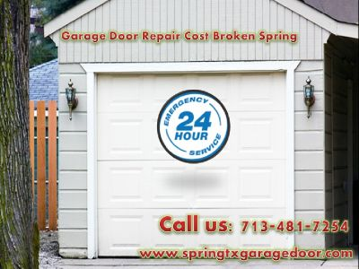 Garage Door Repair Cost Broken Spring | Garage Door Repair
