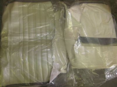 Purchase 70 Chevelle Convertible Pearl Seat Covers Full Set with Front Bench Seat motorcycle in Houston, Texas, United States, for US $200.00