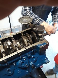 stroked 427 Ford FE shortblock
