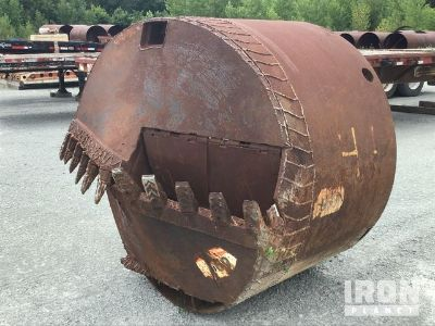 "72"" Excavator Drill Bucket"