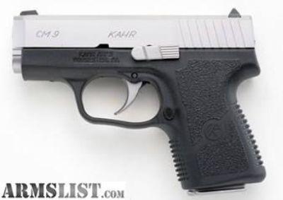 For Sale: NIB Kahr CM9 9mm